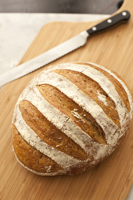 How To Make A 2 Pound Loaf Artisan Bread In Five Minutes