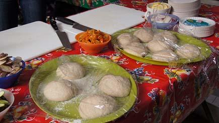 Prepare the dough balls in advance