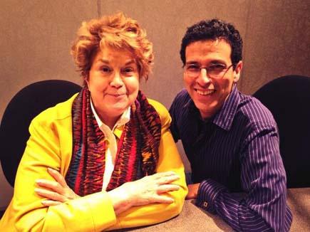 Jeff with Lynne Rossetto Kasper
