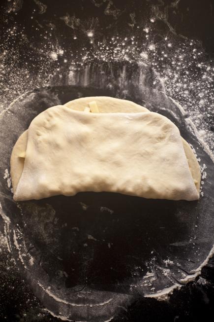 Apple Challah | Breadin5 03