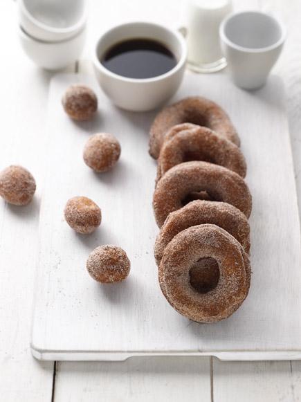 Gluten-Free Apple Cider Doughnuts | Breadin5