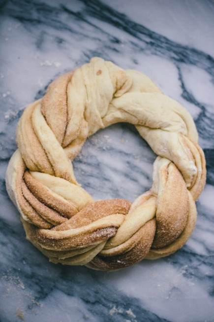 cinnamon brioche wreath | bread in 5