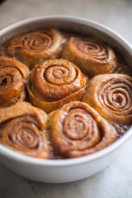 Caramel Cinnamon Bun Bread Pudding – Artisan Bread in Five Minutes a ...