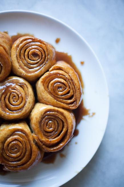 caramel rolls bread pudding   Breadin5 (4 of 8)