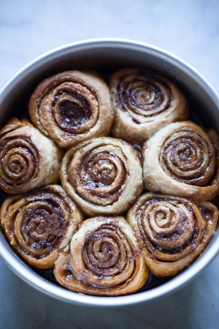 caramel rolls bread pudding   Breadin5 (6 of 8)