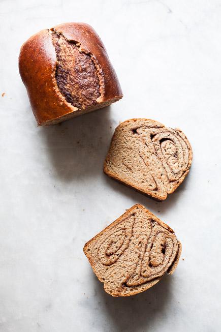 Nutella Swirl Bread| Breadin5 (1 of 9)