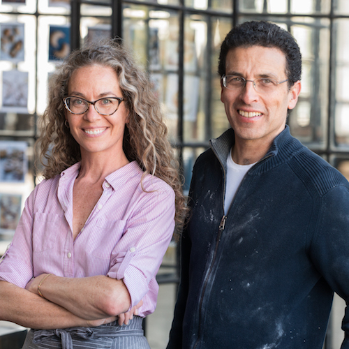 Authors Zoe Francois and Jeff Hertzberg